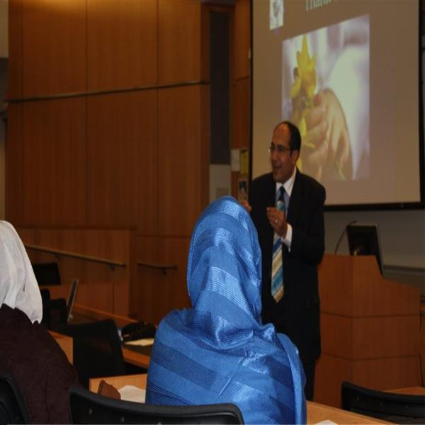 Lecture at George Washington University, USA